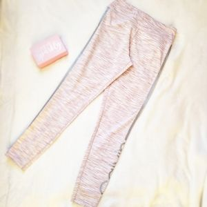 CK cold weather high waist leggings size L